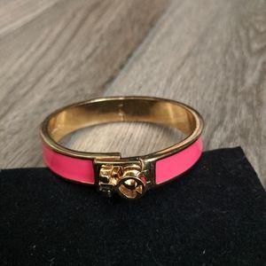Kate Spade New York Pink & Gold Bracelet